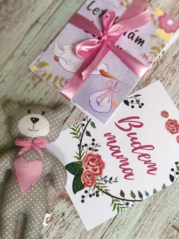 Miľníkové kartičky pre rastúce bruško