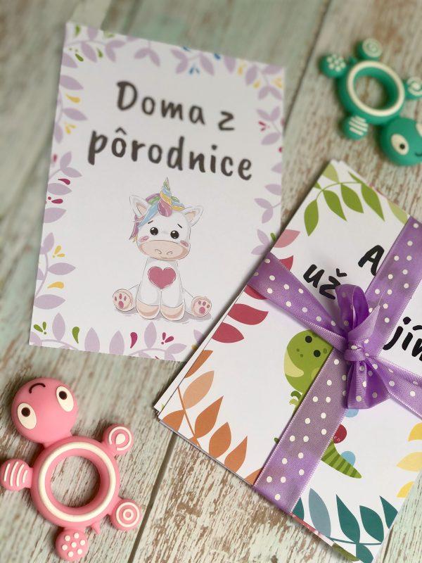 Miľníkové kartičky pre drobčeka